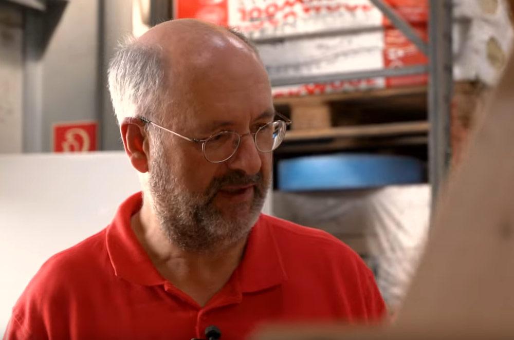 HAKS Film zum Thema Dämmung mit Joachim Groß