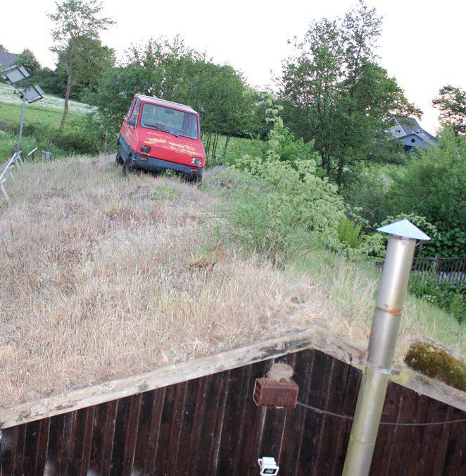 Gründach als umweltfreundlicher Parkplatz entdeckt